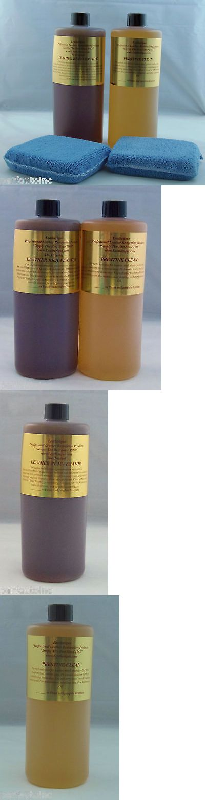 Cleaning Towels And Cloths 29509 Leatherique Leather Restoration Rejuvinator Oil Prestine Clean 32Oz App