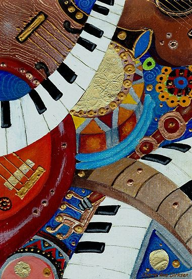 Musical Ensemble by Cherie Roe Dirksen (stunning quality art prints and greeting cards available) #musicart