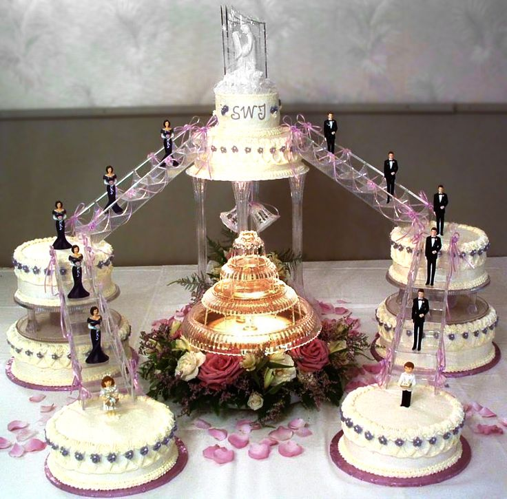 Wedding Decor How To Add Water Fountains To The Celebration