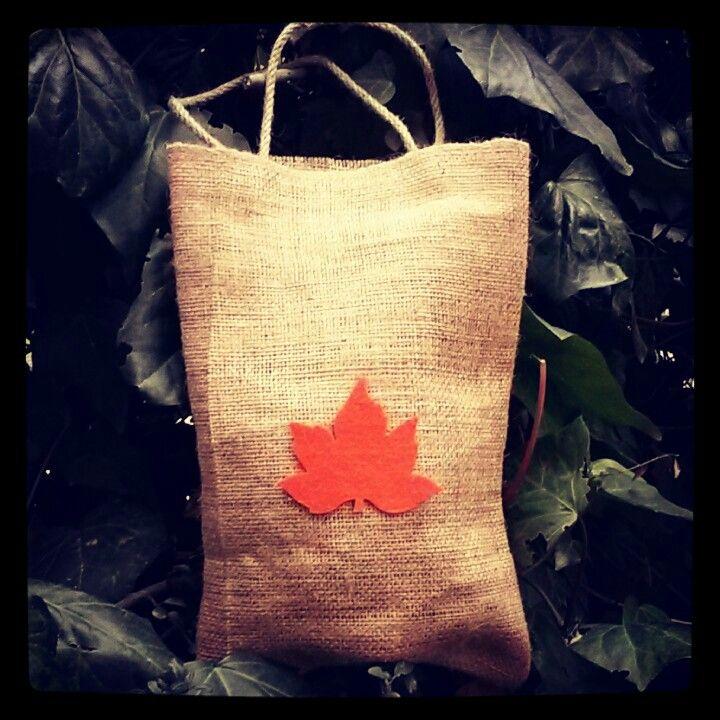 #jut bezi #burlap #keçe #felt #hediye paketi #gift packt #turuncu #orange