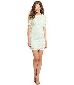 Lace dress dillards online