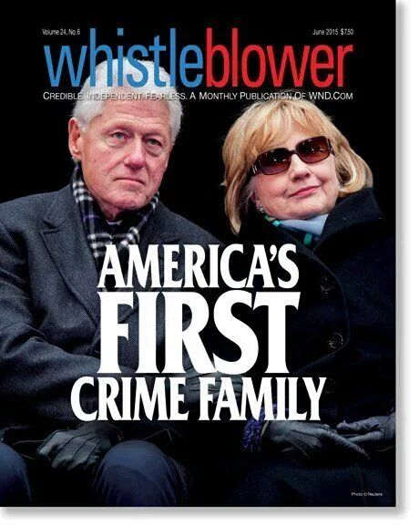 The Clinton Cartel should be charged with Racketeering, amongst other things....!