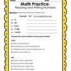 Updated Version! 8 activities/assignments 19 pages total, including a personal word wall for writing out numbers  Directions Include:  Write each n...