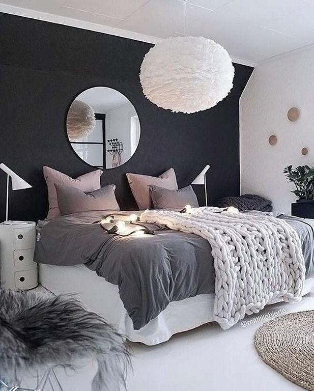 . 20  Minimalist Grey Teenage Girl Bedroom Design And Decor Ideas