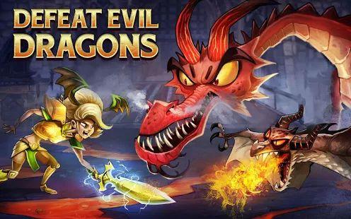 Разгроми противников в ролевой фэнтези-игре DragonSoul на своем Андроиде! Вступай в бой с жестокими драконами и сражайся с могучими чудовищами в ходе масштабной кампании против сил Зла. Получай новых персонажей и собирай просто нереальную добычу, проходя игру в различных режимах: принимай вызовы от других продвинутых игроков в DragonSoul, путешествуй по главам кампании и сражайся с лучшими из лучших в логове боссов!