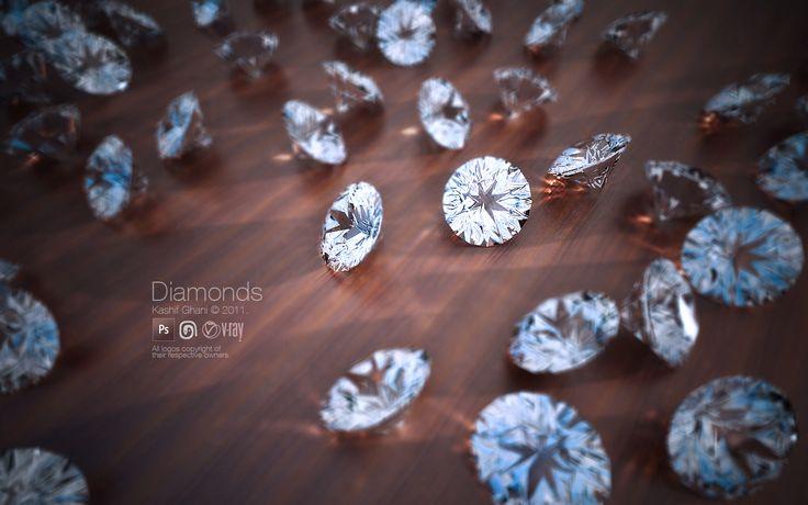 3D Max diamonds