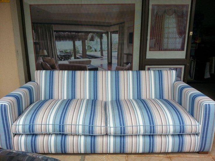 Our New Orleans Stripe Surf made up in this gorgeous laid back 2 seater