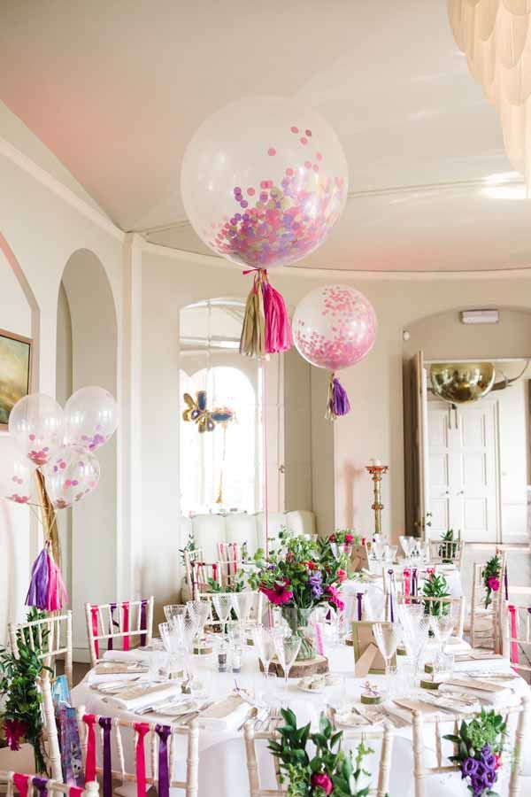 Best 25 wedding balloons ideas on pinterest diys with for Ballon wedding decoration