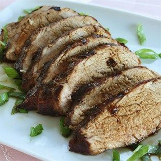 "Chinese Pork Tenderloin I ""A delicious and easy to prepare marinade consisting of ingredients that can be easily found at a Chinese grocery store. Don't let the ingredients fool you, this is a meal that even the less adventurous will enjoy."""