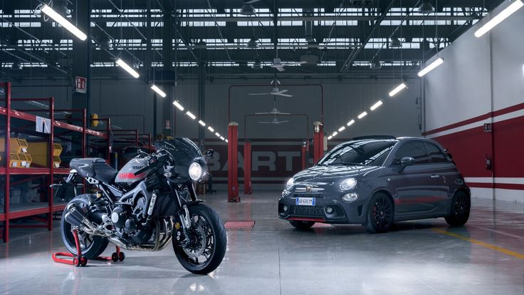 Abarth releases Tributo XSR Concept inspired by Yamaha XSR 900 motorbike