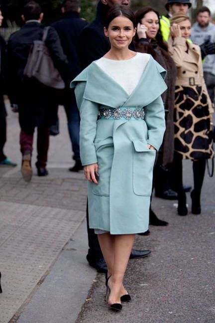 Street style London fashion week F/W 2014 #lfw