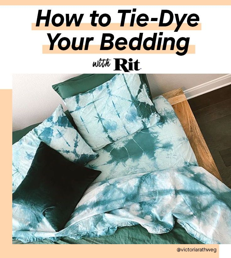Colorful Projects To Do At Home Rit Dye Diy Tie Dye Bedding Tie Dye Sheets Tie Dye Bedding