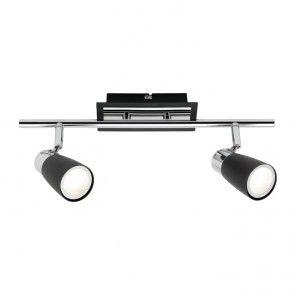 Mercator - Alecia 2 x 9W Black LED Spotlight