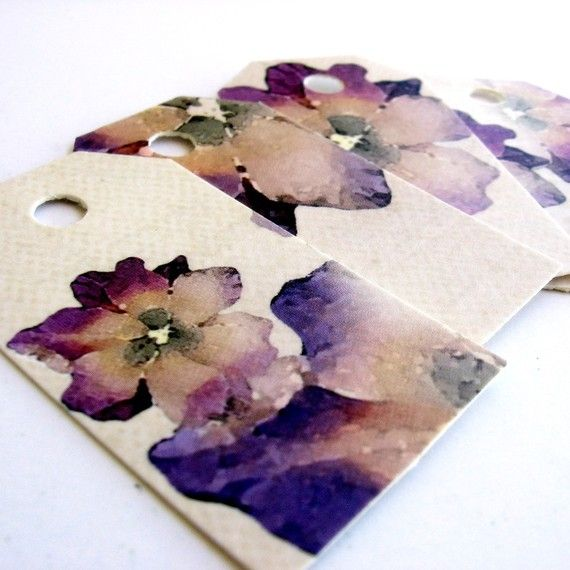 30 Fancy high quality Forget Me Not romantic SHABBY CHIC by KAPARA, $2.00