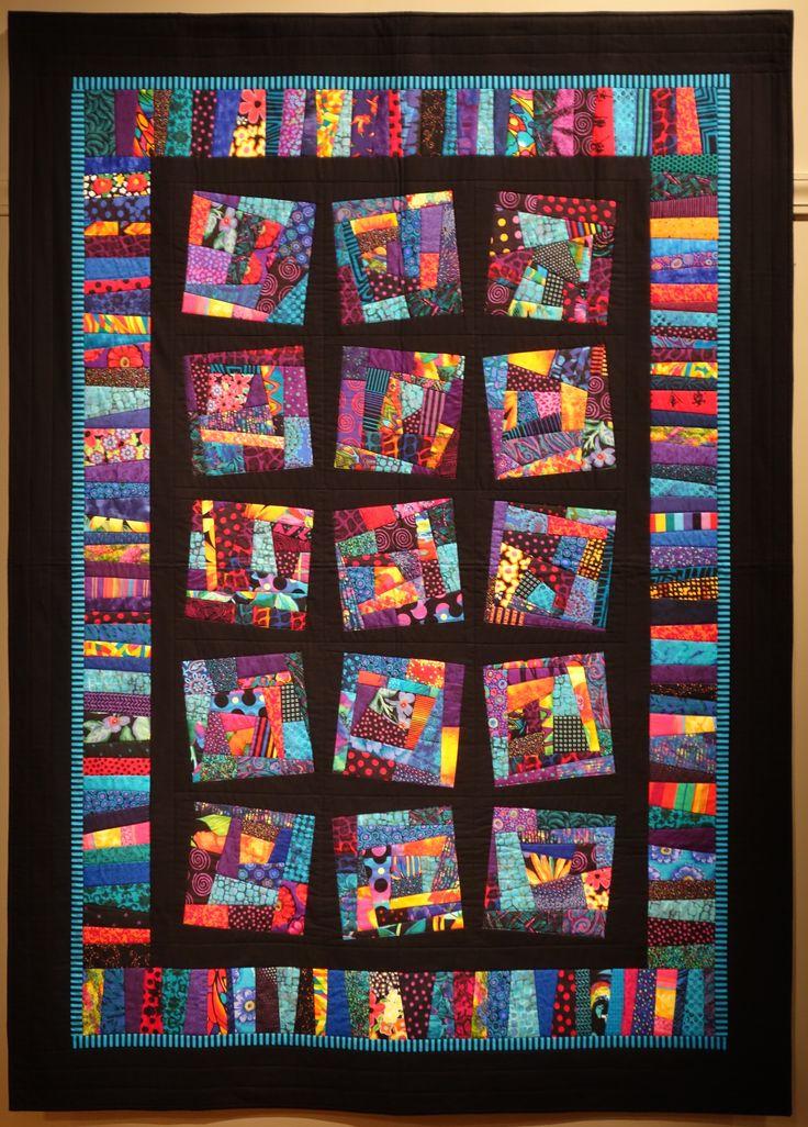 Still Crazy a quilt by Lynda Faires