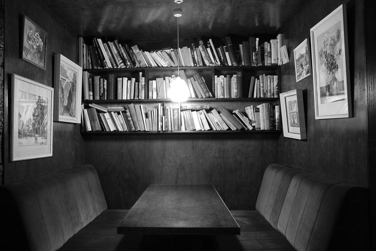 A bar/library combo that sounds absolutely delightful in Wellington, New Zealand.