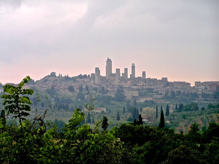 San Gimignano skyline looks like a medieval Manhattan with its tower-houses