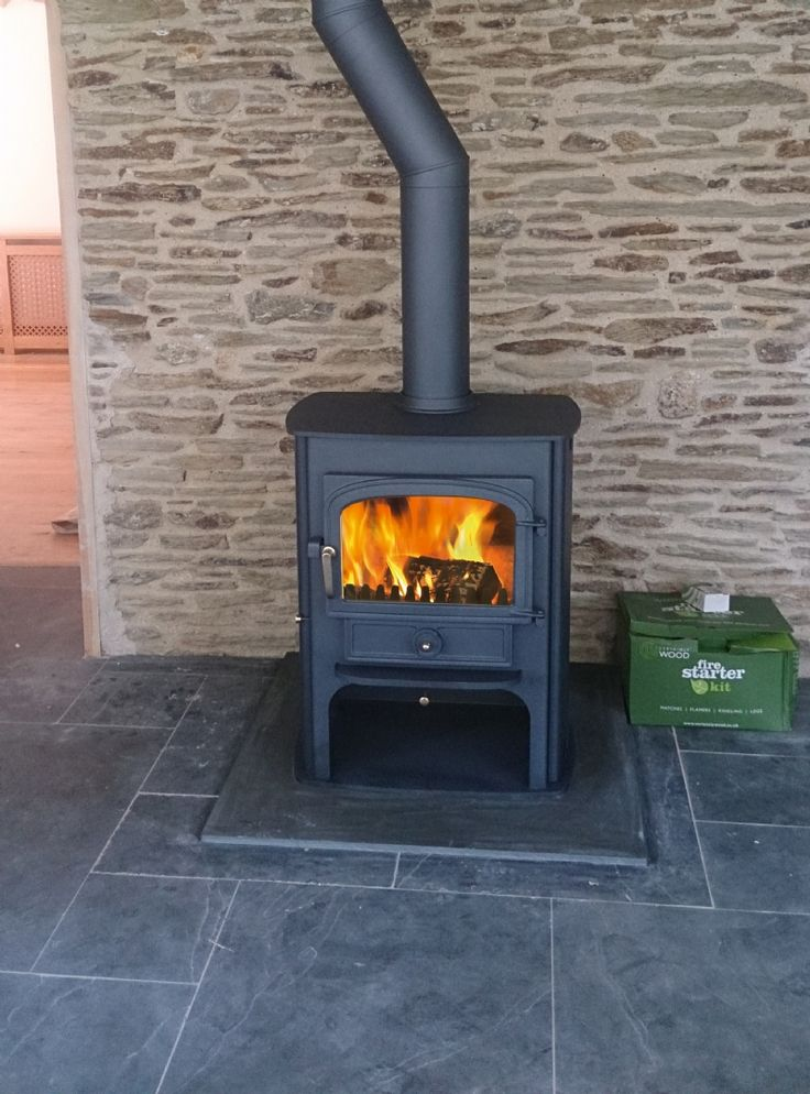 Clearview Solution 500 #KernowFires #Clearview #fireplace #woodburner #stove #install #cornwall #freestanding #traditional