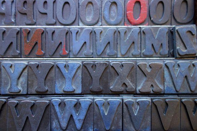 Letters | Flickr: Intercambio de fotos