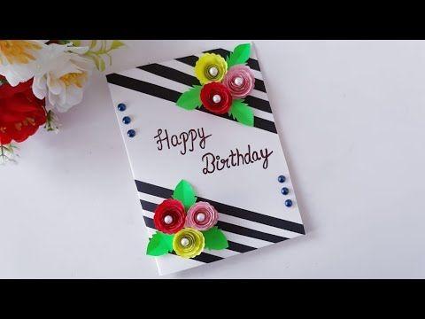 How To Make Special Birthday Card Diy Beautiful Handmade Birthday