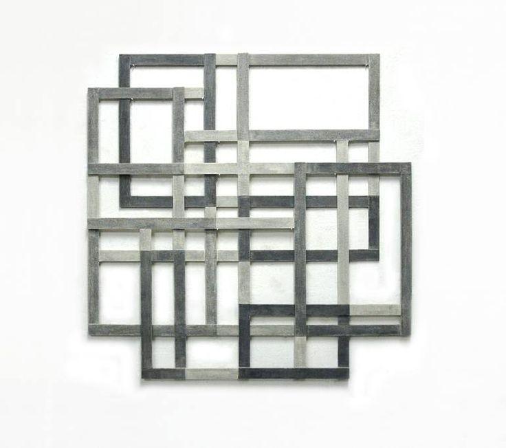 by Alessandro Traina  Sculpture Iron Gauze Acrylic