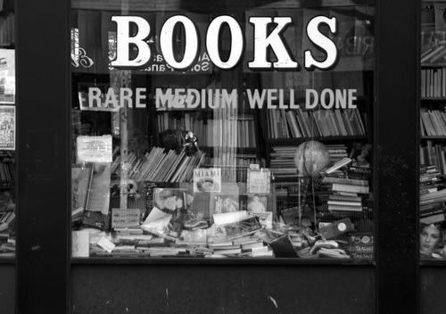 Books -- Rare Medium Well Done