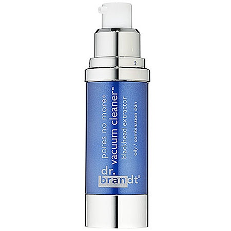 Dr. Brandt Skincare pores no more vacuum cleaner: Pretty much the same idea as the Boscia mask, but more creamy and less clay-like.  Spreads on thin and works the same as the clunky Boscia mask.