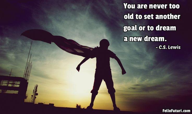 Dream a New Dream - http://www.felixfuturi.com/dream-a-new-dream/
