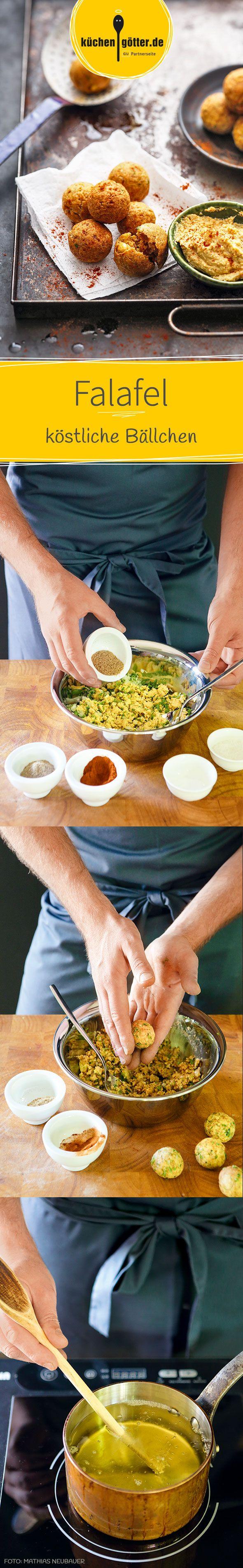 Ihr kennt die frittierten Bällchen nur aus der Döner-Bude? Selbst gemacht schmecken sie viel besser - wie kleine Schätze aus dem Orient.