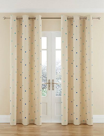 Ready Made Curtains   Eyelet & Pencil Pleat Curtains   M&S