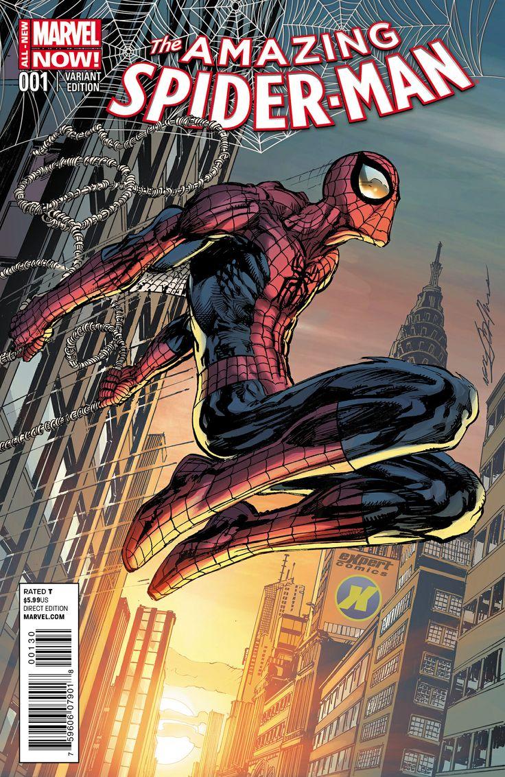 W.spider Neal 8 best Comic Book Cove...