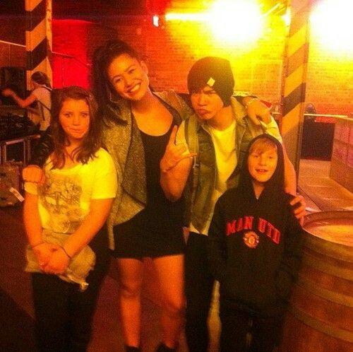 The Irwins and the Hoods =D @Harpreet Singh Irwin @Lauren Davison Irwin ✌
