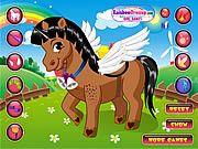 Un joc online cu ponei desprins din basme unde poneiul este fermecat.Acum ai sansa sa imbraci poneiul asa cum ti-ai dorit mereu.Alege cele mai frumoase haine pentru scumpul tau ponei.Se joaca cu mouse-ul.