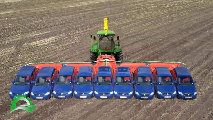 Harvesting modern agriculture technology 2016