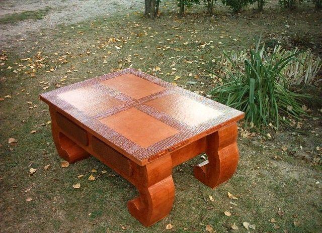 Мастер-класс как сделать столик из картона