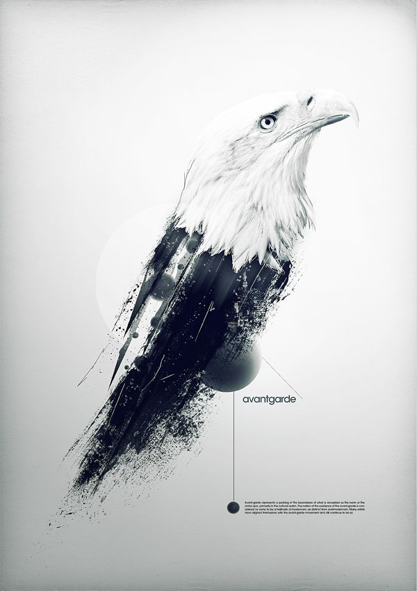 avantgarde by Maxime Quoilin, via BehanceTypography Poster, Graphicdesign, Posters Design, Graphics Design, Maxim Quoilin, Avant-Garde, Behance Network, Bald Eagles, Forefront