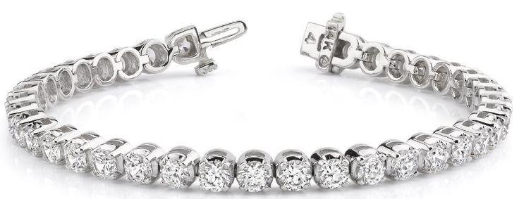 Diamantarmband mit 2.00 Karat Diamanten aus 585er Weißgold bei www.diamantring.be für nur 3640.00 Euro Versandkostenfrei bestellen.