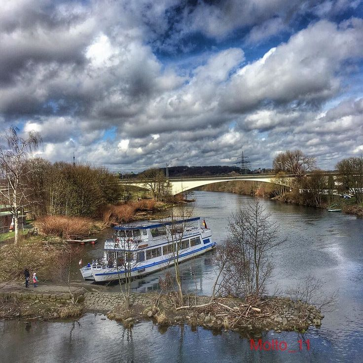 """Ruhrschifffahrt Ostersonntag 27.3.2016 #iphone6sphotography #ostern #eastern #ruhr #ruhrtal #love_ruhrgebiet #ruhrgebiet #ruhrschifffahrt #nature #naturelovers #clouds #cloudporn #cloudlovers #skyporn #skylovers #ig_nrw #loves_united_germany #ichliebewetter #like4like #beautiful #follow #cool #instasky by molto_11 Follow """"DIY iPhone 6/ 6S Cases/ Covers/ Sleeves"""" board on @cutephonecases http://ift.tt/1OCqEuZ to see more ways to add text add #Photography #Photographer #Photo #Photos #Picture…"""