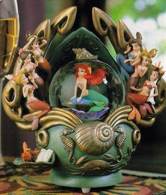 Little Mermaid - Disney Snowglobes Collectors Guide