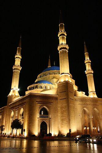 Mohamad Al-Amin Mosque, Beirut Hermoso lastima que las religiones sirvan para separarnos.