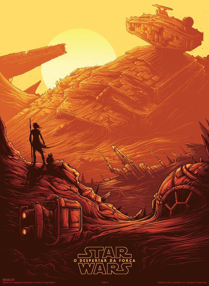 Conheça os novos pôsteres de Star Wars: O Despertar da Força para IMAX | br.StarWars.com