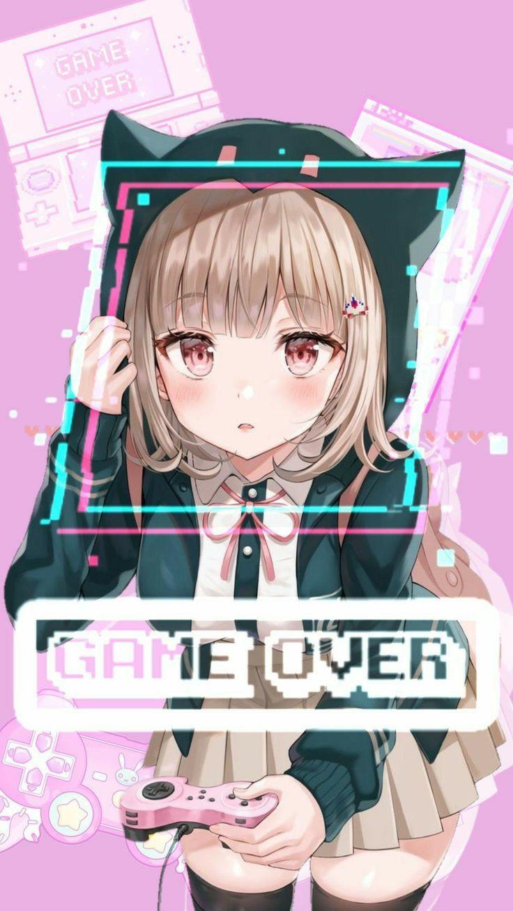 Game Over Anime Neko Kawaii Anime Anime