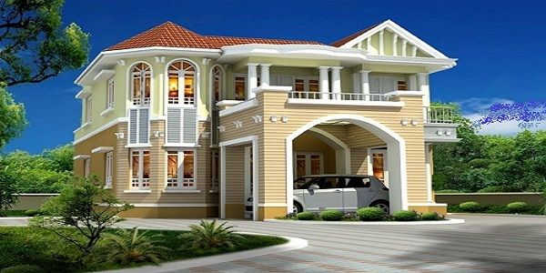 Different Exterior Home Design Styles with Creative Color Scheme Luxury Home Exterior Design