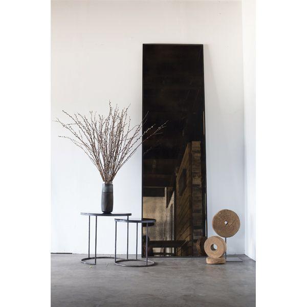 Bronze floor mirror - by Notre Monde