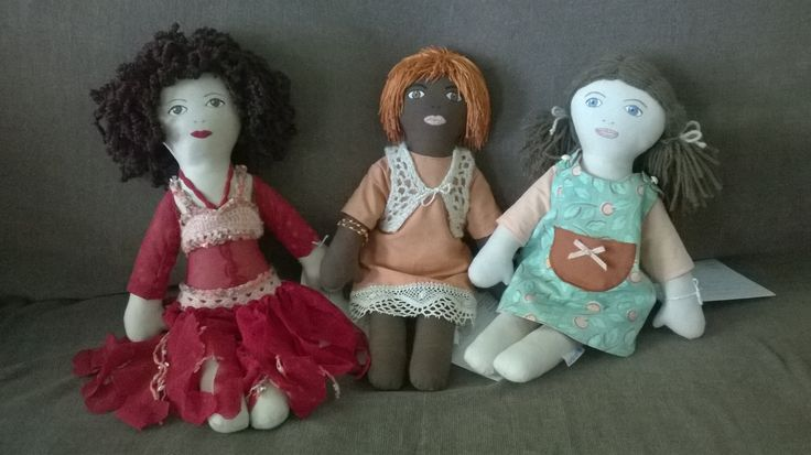 Unicef-nuket Leyla, Aida ja Venla