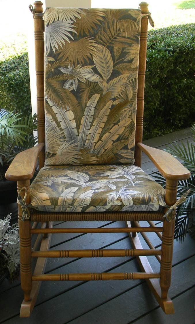 Indoor / Outdoor Rocker Cushion Made with