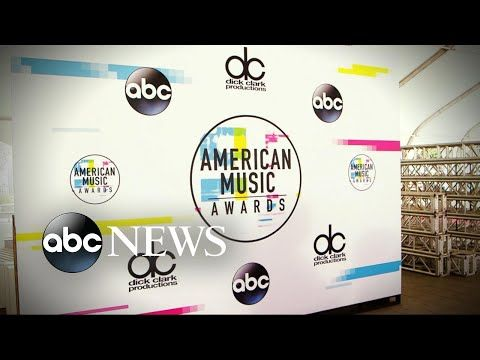 Behind the scenes of the 2017 American Music Awards Good Morning America