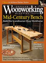 Modern hardware and techniques update this Tage Frid-inspired bench. by Bill Rainford pgs. 30-39 Scandinavian- or Continental-style workbenches are the vinyl LP records of the woodworking world. These iconic benches have never left the scene. A few are classics and others are the flavor of the month. Some benches in this style are masterworks and some are poor approximations of an archetypical form. The trick is finding the workbench that …