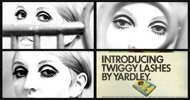 Twiggy Make up by model Kim Eccleston