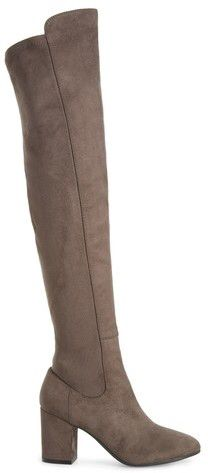Women's Treasure & Bond Lynx Stretch Over The Knee Boot-I would LOVE to have these but unfortunately I'm too short and they would just look like pants on me! BUT there's no reason why a normal-sized girl can't have them! #fashion #trendy #ad #style #shoeicide #boots #tooshortfortallboots